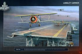 Letadlové lodě ve Hře World of Warships